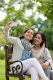 Perfect selfie Stock Photography