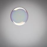 Perfect shining soap bubble Stock Photography