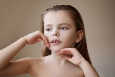 Perfect skin, perfect beauty stock images