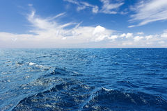 Perfect sky and water background Royalty Free Stock Photos