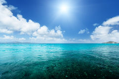 Perfect sky and water Royalty Free Stock Photo