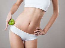 Perfect Slim Woman Body. Diet Concept Royalty Free Stock Image