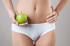 Perfect Slim Woman Body. Diet Concept Royalty Free Stock Images