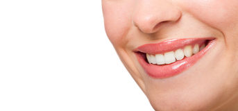 Perfect smile Stock Image