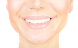 Perfect smile Stock Images