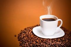 Perfect Smoking Coffee Royalty Free Stock Photo