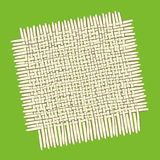 Square bamboo mat. Perfect square bamboo mat for eating background Royalty Free Stock Photos