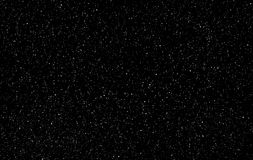 Perfect starry night sky background - outer space vector background royalty free illustration