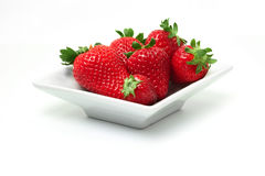 Perfect Strawberries Royalty Free Stock Image