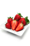 Perfect Strawberries still-life Stock Images