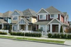 Perfect Suburban Neighborhood Stock Photos