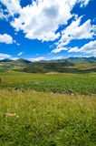 Perfect sunny day lanscape view Royalty Free Stock Photos