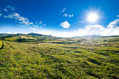 Perfect sunny day lanscape view Royalty Free Stock Photography