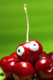 Perfect sweet cherries. Color delicious Stock Photo