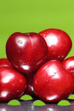 Perfect sweet cherries Stock Photo