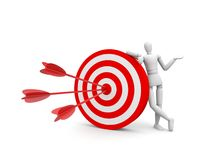 Perfect target Stock Photo
