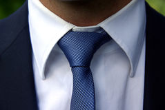 Perfect tie knot Royalty Free Stock Photos