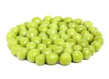 Perfect tinned peas. Stock Image
