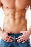 Perfect torso. Royalty Free Stock Image