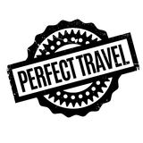 Perfect Travel rubber stamp Royalty Free Stock Photo