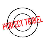Perfect Travel rubber stamp Royalty Free Stock Image