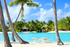Perfect tropical beach Royalty Free Stock Images