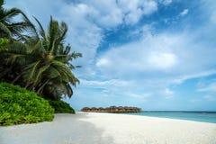 Perfect tropical  beach. Perfect tropical island paradise beach Stock Image