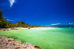 Perfect tropical beach with turquoise water in Royalty Free Stock Photo