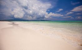 Perfect tropical beach with turquoise water and Stock Images