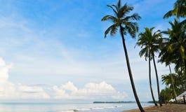 Perfect tropical island paradise beach Stock Photos