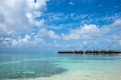 Perfect tropical island paradise beach Maldives Stock Image