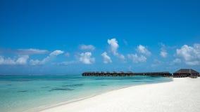 Perfect tropical island paradise beach Maldives Royalty Free Stock Photography
