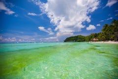 Perfect tropikalna plaża z turkus wodą i Zdjęcie Stock