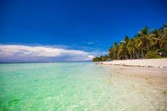 Perfect tropikalna plaża z turkus wodą i Zdjęcie Royalty Free
