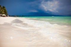 Perfect tropikalna plaża z turkus wodą i Obrazy Stock