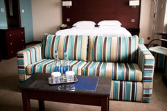 Perfect vacation and relaxation hotel room Stock Photography
