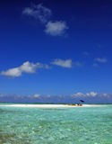 Perfect Vacation Spot. The ideal beach for a holiday, Los Roques, Colombia Stock Photos