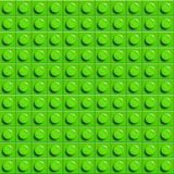 Perfect vector lego background of closeup plastic gloss construction block. Green. Perfect vector lego background of closeup plastic gloss construction lego vector illustration