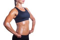 Perfect vrouwelijk lichaam Stock Foto