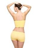 Perfect vrouwelijk lichaam met dunne taille Royalty-vrije Stock Foto