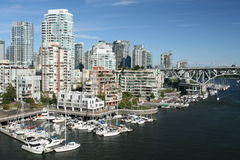 Perfect Waterfront City Stock Photography