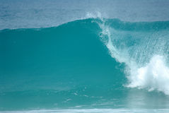 Perfect wave. A perfect wave in hawaii Stock Photography