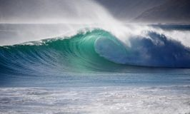 Perfect wave Noordhoek Stock Photography
