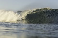 Perfect Surf In NZ Stock Photography