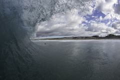 Perfect Surf In NZ Royalty Free Stock Photo