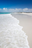 Perfect White Beach stock images