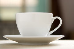 Perfect white coffee cup Stock Photo