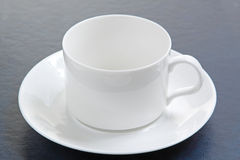 Perfect white coffee cup Royalty Free Stock Image