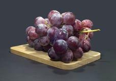 Perfect wiązka czerwoni winogrona Obrazy Stock