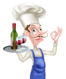 Perfect Wine Chef Stock Photos